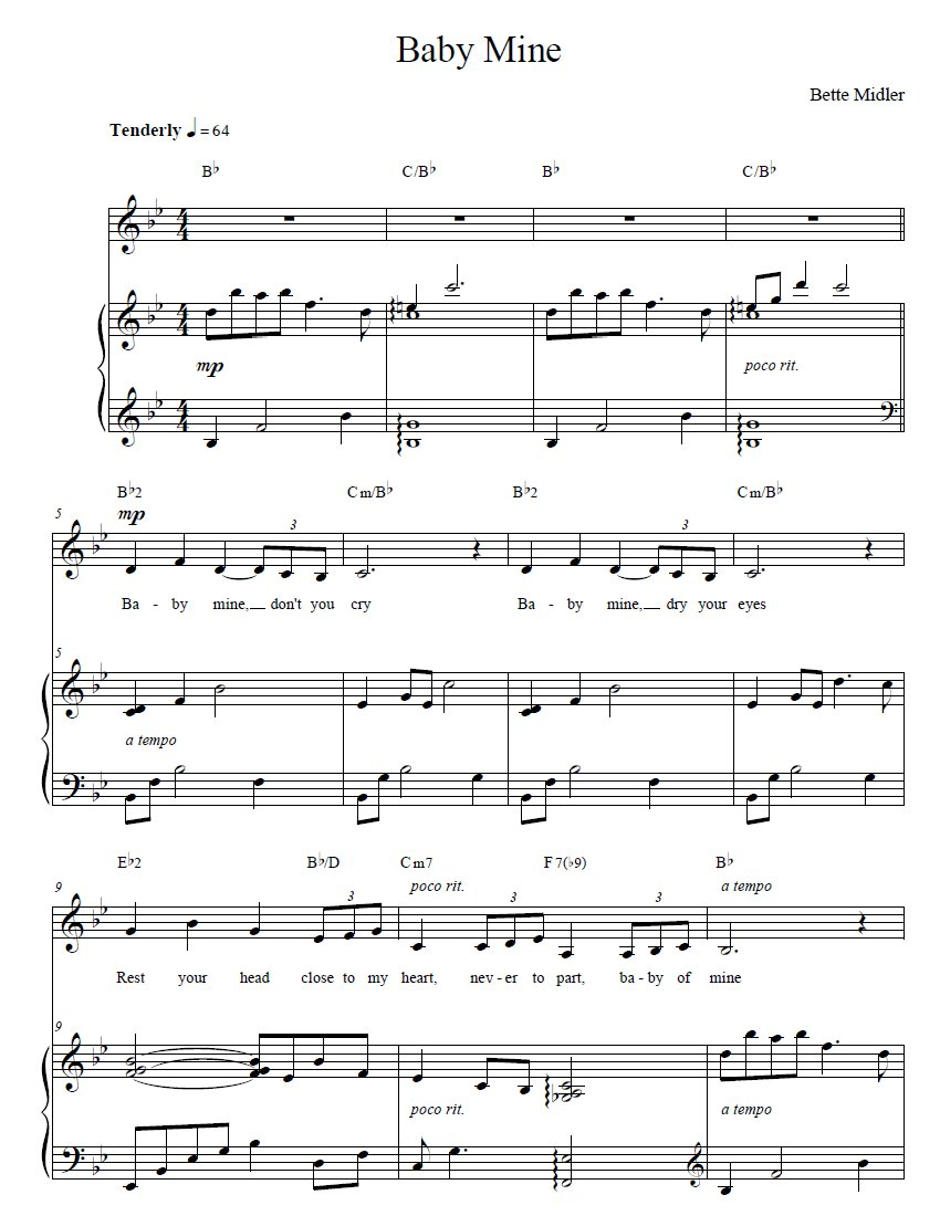 Music transcription service by john zechiel i will transcribe piano vocal piano vocal hexwebz Image collections